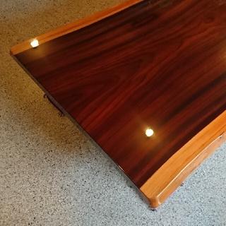 倉木銘木(株) 一枚板の座卓(ローテーブル)