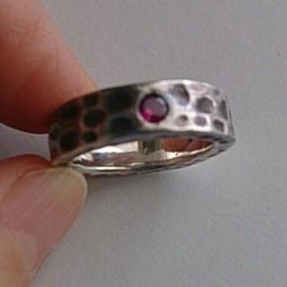 シルバー925 いぶしリング(リング(指輪))