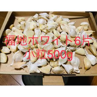 青森県産 福地ホワイト小粒生ニンニク500g にんにく (野菜)