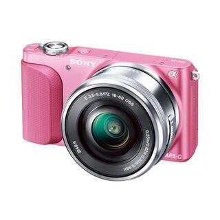 SONY - SONY ミラーレス一眼 NEX-3N ピンク