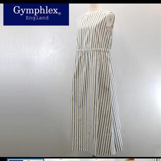 ジムフレックス(GYMPHLEX)のGymphlex 【ジムフレックス】 ストライプ ノースリーブワンピース(ロングワンピース/マキシワンピース)