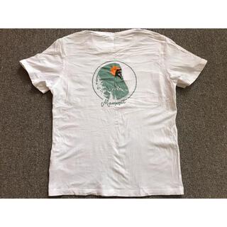 Mammut - マムート Tシャツ レディース L 白 ビックプリント