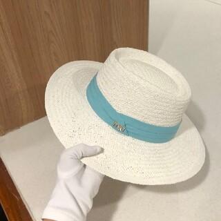 ミュウミュウ(miumiu)のMiu Miu 麦わら帽子(麦わら帽子/ストローハット)