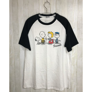 ピーナッツ(PEANUTS)のPEANUTS チャーリーブラウン シュローダー 半袖Tシャツ(Tシャツ/カットソー(半袖/袖なし))