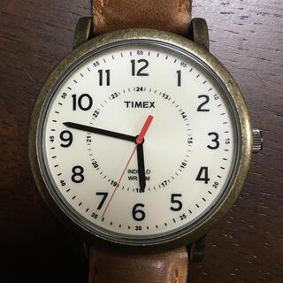 タイメックス(TIMEX)のTIMEX 腕時計 タイメックス INDIGLO WR30M アナログ(腕時計(アナログ))