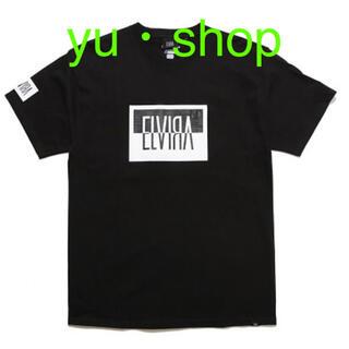 エルヴィア(ELVIA)のBLACK  エルビラ  Lサイズ  三代目  登坂  Tシャツ  新品未使用。(Tシャツ/カットソー(半袖/袖なし))