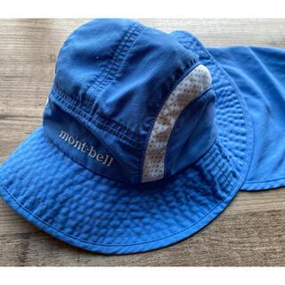 モンベル(mont bell)のモンベル ベビー 帽子 ハット 日除け付(帽子)