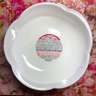 ヤマザキセイパン(山崎製パン)のヤマザキ 春のパン祭り お皿 12枚 白いフラワーボウル [未使用](食器)