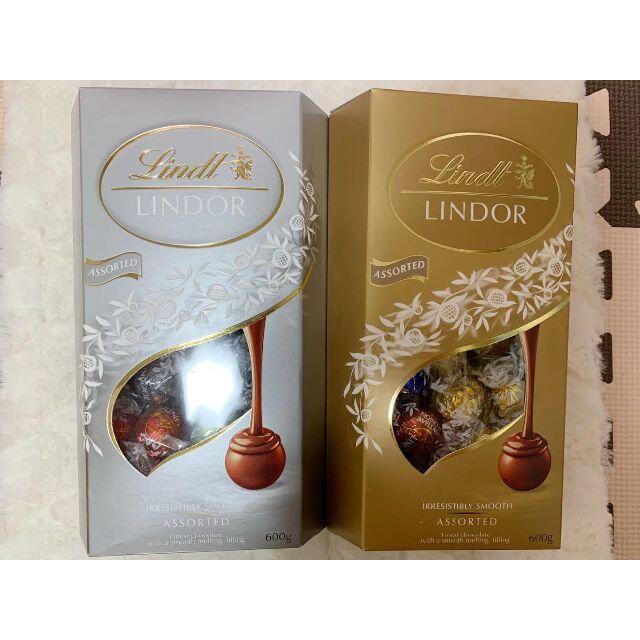 Lindt(リンツ)のリンツリンドールチョコレート 7種35個 食品/飲料/酒の食品(菓子/デザート)の商品写真