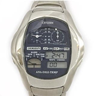 シチズン(CITIZEN)のシチズン アナデジテンプ オルタナ(腕時計(デジタル))