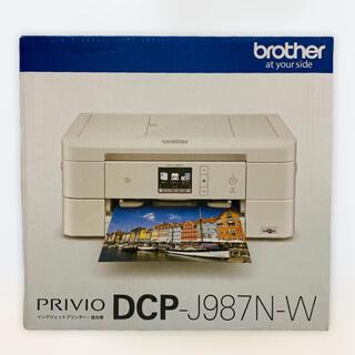 brother - 〔新品・未使用〕ブラザー プリンター  DCP-J987N-W