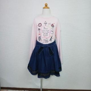 オリンカリ(OLLINKARI)のMai様お取り置き688 オリンカリ ロンT 150 140(Tシャツ/カットソー)