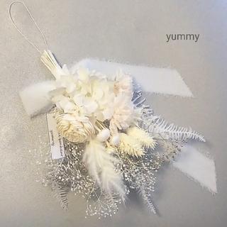 mother´s day mini swag(vanilla white)(ドライフラワー)