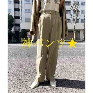 アメリヴィンテージ(Ameri VINTAGE)の限定☆【Ameri VINTAGE】2TUCKS STRAIGHT PANTS(カジュアルパンツ)