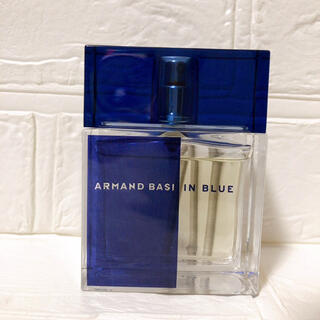 アルマンドバジ(Armand Basi)の未使用 希少 ARMAND BASI アマンドバジ IN BLUE 香水(香水(男性用))