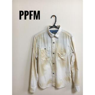 ピーピーエフエム(PPFM)のPPFM メンズシャツ Mサイズ(シャツ)