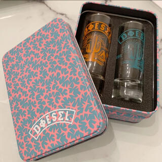 ディーゼル(DIESEL)のdiesel 非売品 ショットグラス 2個セット(グラス/カップ)
