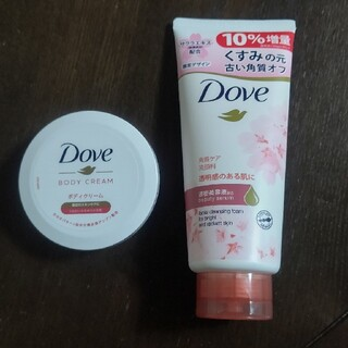 Unilever - DOVE  サクラデザイン 洗顔料 ボディクリーム