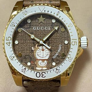 グッチ(Gucci)の国内正規店購入品★GUCCI DORAEMON 牛ドラえもん 限定腕時計(腕時計(アナログ))