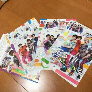 ジャニーズ(Johnny's)の週刊ザテレビジョン 2021年4/30号ジャニーズWEST 7人で歩んだ虹色の道(アート/エンタメ/ホビー)