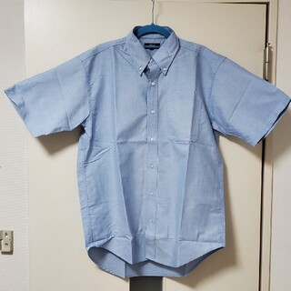 アイトス(AITOZ)のオックスボタンダウン 半袖シャツ Mサイズ(シャツ)