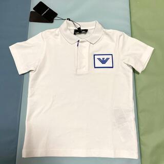 エンポリオアルマーニ(Emporio Armani)のアルマーニ ジュニア ベビー ポロシャツ Tシャツ 4A  106(Tシャツ/カットソー)