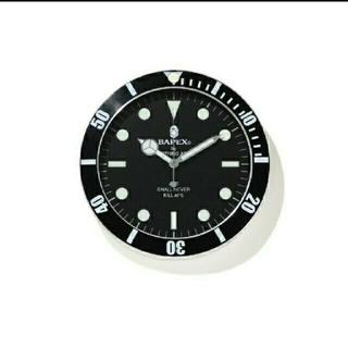 アベイシングエイプ(A BATHING APE)のA BATHING APE BAPEX WALL CLOCK 掛け時計(掛時計/柱時計)