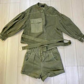 ZARA セットアップ ジャケット+デニムパンツ