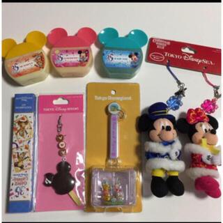 ディズニー(Disney)のディズニーリゾートストラップお土産(シャンプー/コンディショナーセット)