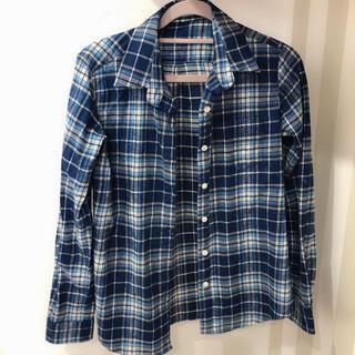 ドゥドゥ(DouDou)のチェックシャツ DOUDOU(シャツ/ブラウス(長袖/七分))