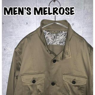 メンズメルローズ(MEN'S MELROSE)のMEN'S MELROSE/メンズ メローズ ミリタリーブルゾン(ミリタリージャケット)