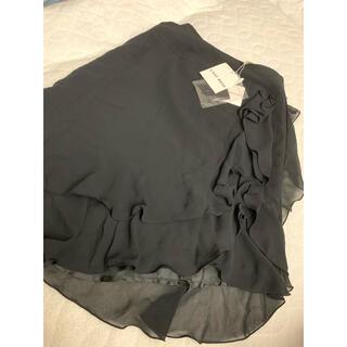レストローズ(L'EST ROSE)のスカート 新品 タグ付き(ひざ丈スカート)