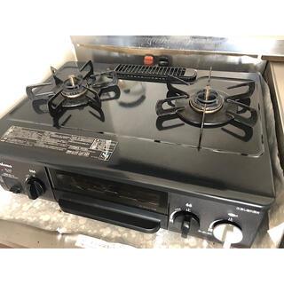 パロマ ガステーブル IC-N30KB-L 都市ガス 13A用 左強火力(ガスレンジ)