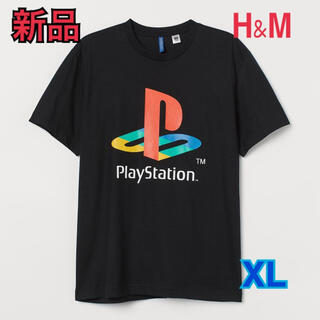 エイチアンドエム(H&M)の⭐️新品未使用⭐️ H&M × PlayStation コラボ Tシャツ(Tシャツ/カットソー(半袖/袖なし))