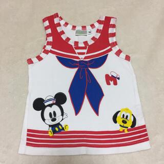 ディズニー(Disney)のミッキーセーラー風タンクトップ90㎝(Tシャツ/カットソー)