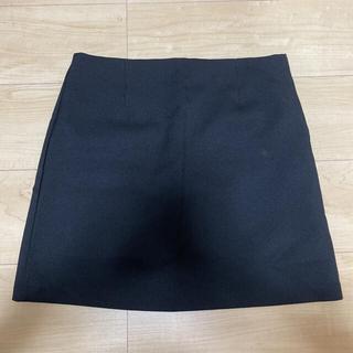 GOGOSING - タイトスカート ミニスカート 台形スカート ブラック 韓国 シンプル
