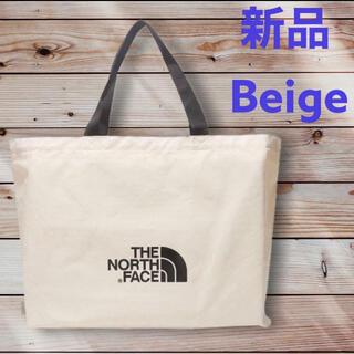 THE NORTH FACE - 新品 ノースフェイス ベージュ☆ ショッパーバッグ L エコバッグ トートバッグ