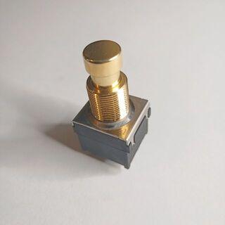 3PDT フットスイッチ 金 GOLD(エフェクター)
