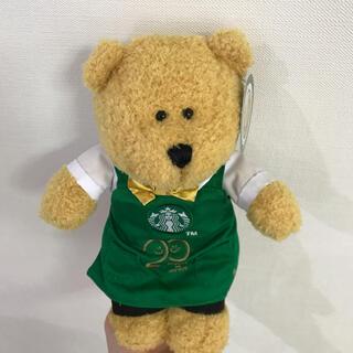 Starbucks Coffee - スタバ ベアリスタ ぬいぐるみ 25周年