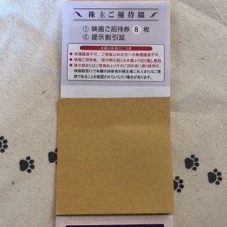ラスト1冊 8枚 男性名義 東京テアトル 株主優待券(その他)