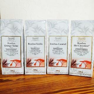 ロンネフェルト ルイボスティー4種セット 100g x 4(茶)