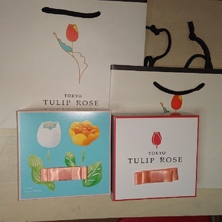 チューリップローズ 4個入り2箱(菓子/デザート)