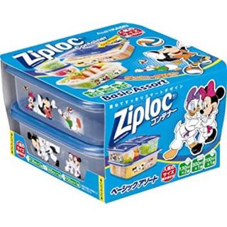 ディズニー(Disney)の新品 ジップロック コンテナー アソート ミッキー&フレンズ 2020年 限定(容器)