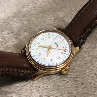 オリス(ORIS)の【動作品】ORIS 7405 17jewels 自動巻き ポインターデイト(腕時計(アナログ))
