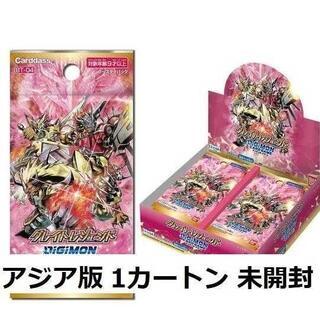 日本語 アジア版 デジモンカード グレイトレジェンド 1カートン (12箱)(Box/デッキ/パック)
