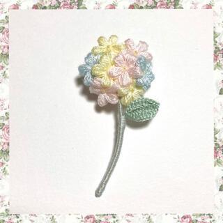 フラワーブローチ*一輪の花〜パステルmix(B)(コサージュ/ブローチ)