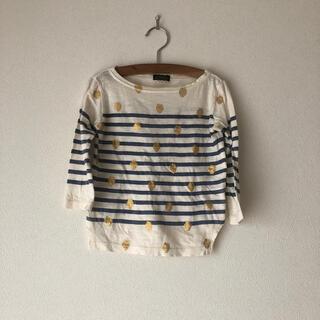 ゴートゥーハリウッド(GO TO HOLLYWOOD)の美品ゴートゥーハリウッド苺ボーダーTシャツ100(Tシャツ/カットソー)