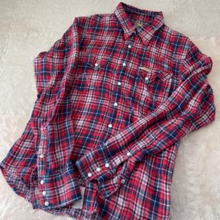 AKM - AKM × WRANGLER チェックシャツ ウエスタンシャツ ネルシャツ