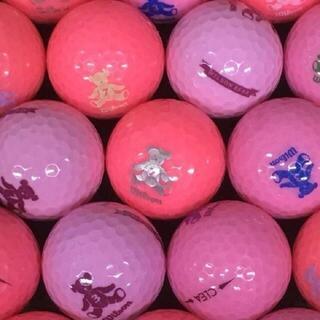 wilson - ロストボール ベアクレア ピンク系ボール 30球