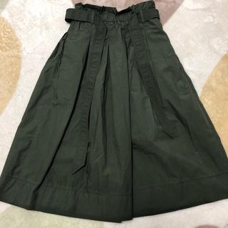 ユニクロ(UNIQLO)のフレアスカート☆未使用(ロングスカート)